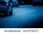 urban traffic road with... | Shutterstock . vector #611976371