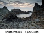 Dramatic Rocky Coastline At...