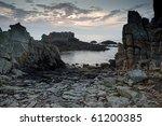 Dramatic Rocky Coastline At...