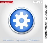 colored icon or button of... | Shutterstock .eps vector #612009209