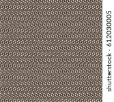 brown textile pattern. carpet.... | Shutterstock .eps vector #612030005