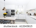 modern kitchen interior | Shutterstock . vector #612045815