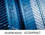 detail glass building background | Shutterstock . vector #612049667
