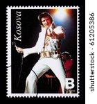 republic of kosovo   circa 1999 ... | Shutterstock . vector #61205386