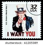 united states america   circa...   Shutterstock . vector #61205389