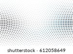 light blue vector modern... | Shutterstock .eps vector #612058649