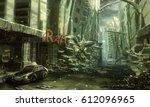 digital illustration of... | Shutterstock . vector #612096965