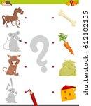 cartoon vector illustration of... | Shutterstock .eps vector #612102155