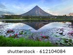 Mayon Volcano At Early Morning...