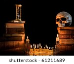 Halloween Border With Skull ...
