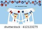 illustration vector cartoon... | Shutterstock .eps vector #612123275