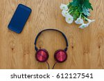 Headphones Flowers And A Smart...