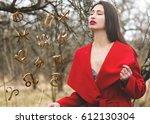 astrology  twelve zodiac signs | Shutterstock . vector #612130304