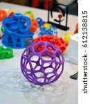 objects printed by 3d printer.... | Shutterstock . vector #612138815