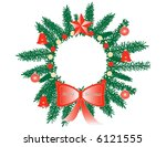 illustration of christmas and... | Shutterstock .eps vector #6121555
