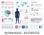 health medicine infographics... | Shutterstock .eps vector #612160151