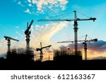 Crane And Building Constructio...