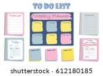 "set of eight planners ""to do... 