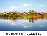 reflection lake | Shutterstock . vector #61221562
