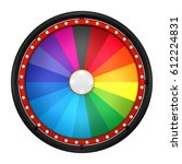 3d illustration of lucky spin... | Shutterstock . vector #612224831