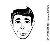 man character posture line   Shutterstock .eps vector #612252401