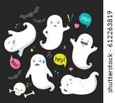 Cute Ghost Character...
