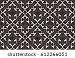 vintage abstract floral... | Shutterstock .eps vector #612266051
