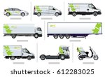 vector transport template for... | Shutterstock .eps vector #612283025