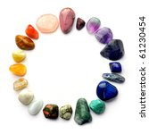 Color Spectrum Of Semiprecious...