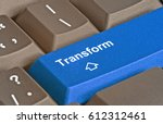 keyboard with key for... | Shutterstock . vector #612312461