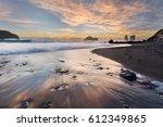 Sunset At Mosteiros Beach On...