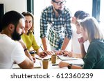 e com specialists team is... | Shutterstock . vector #612360239