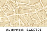 editable vector illustrated map ... | Shutterstock .eps vector #61237801