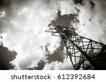 photo depicting one high... | Shutterstock . vector #612392684