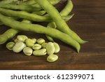 beans on table | Shutterstock . vector #612399071