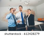business  people  teamwork and... | Shutterstock . vector #612428279
