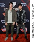 Small photo of LOS ANGELES, CA. March 05, 2017: Timeflies - Rob Resnick & Cal Shapiro - at the 2017 iHeartRadio Music Awards at The Forum, Los Angeles.