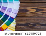 painter and decorator work... | Shutterstock . vector #612459725