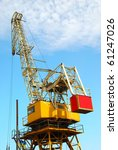 sea platform with the crane for ... | Shutterstock . vector #61247026