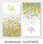Easter Banners Set Of Festive...