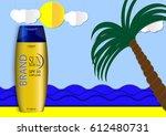 eps 10 vector paper style... | Shutterstock .eps vector #612480731