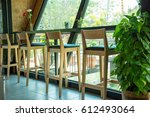 coffee bar | Shutterstock . vector #612493064