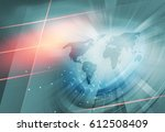 growing business background... | Shutterstock . vector #612508409