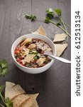 Homemade Taco Soup In Small...