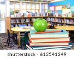 modern classroom with... | Shutterstock . vector #612541349