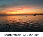 before sunset | Shutterstock . vector #612554609