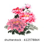ancient chinese traditional... | Shutterstock . vector #612578864