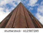 brick building  lisbon  portugal | Shutterstock . vector #612587285