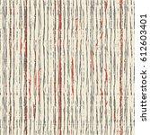 seamless shabby abstract... | Shutterstock .eps vector #612603401