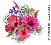 vector design of colorful... | Shutterstock .eps vector #612626651